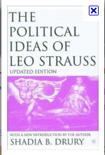 Leo Strauss - grand father of neocon social domintor authoritarians.
