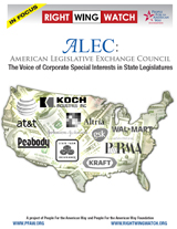 The Voice of Corporate Special Interests In State Legislatures