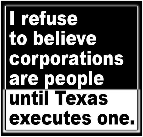 Corporations will be citizens 