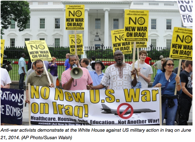 No new war on Iraq