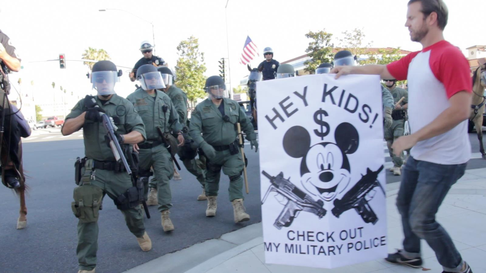 Hey Kids, check out my militarized police